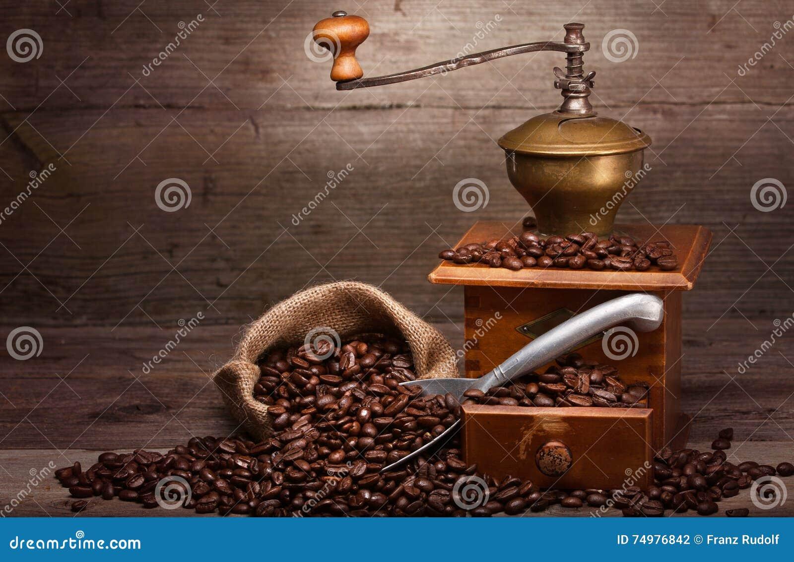 Máquina velha do café