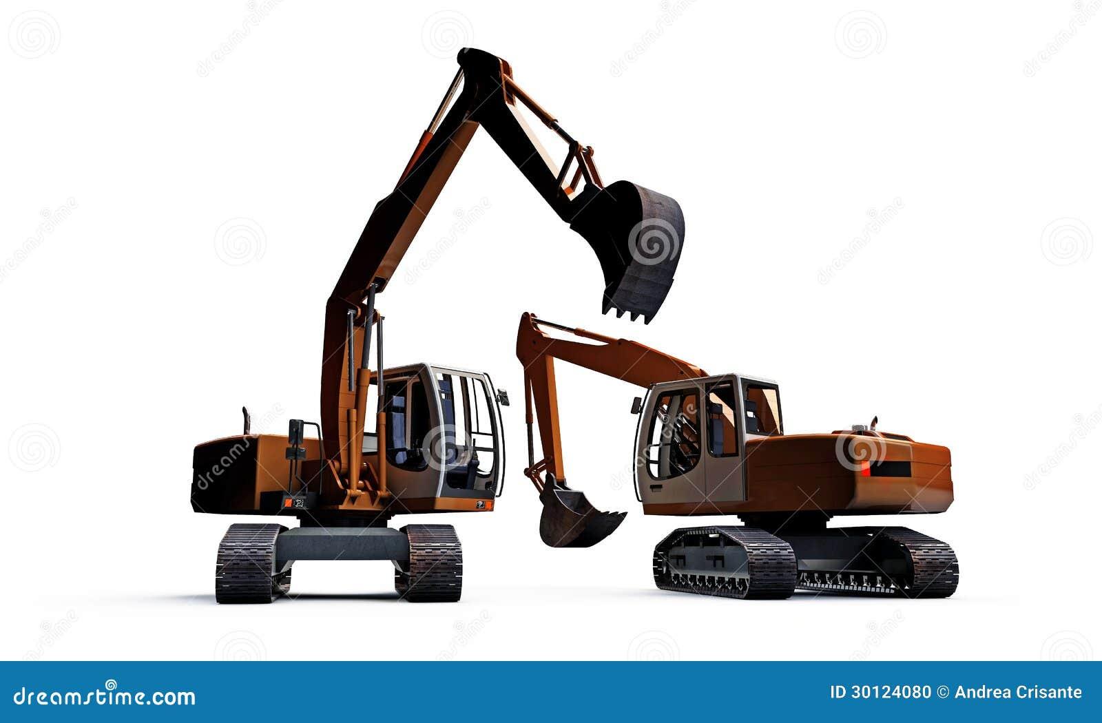 Máquinas escavadoras
