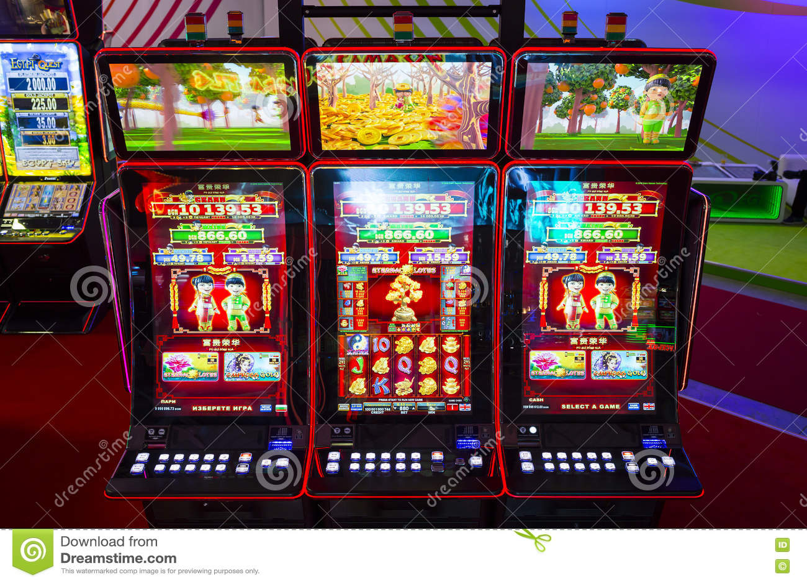 Maquinas Tragamonedas Casino