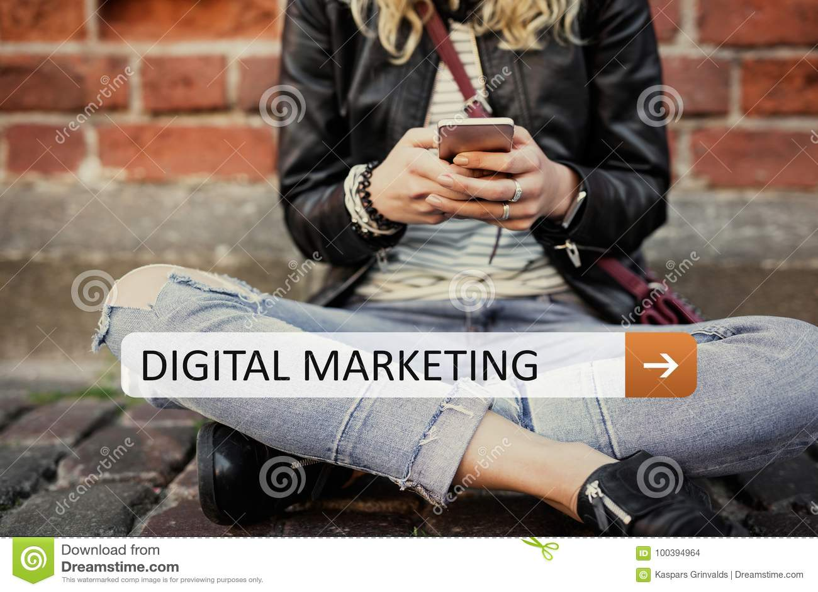 Márketing de Digitaces en su dispositivo móvil