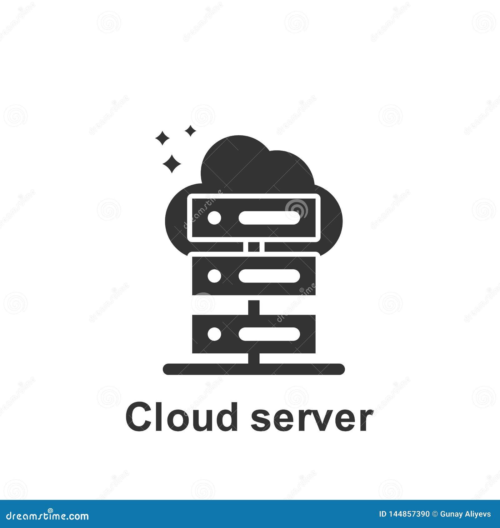 M?rketing en l?nea, icono del servidor de la nube Elemento del icono de comercializaci?n en l?nea Icono superior del dise?o gr?fi