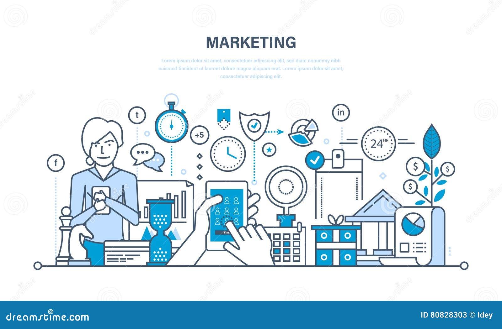 Márketing, estudio de mercados, gestión y estrategia del control, estadísticas, información