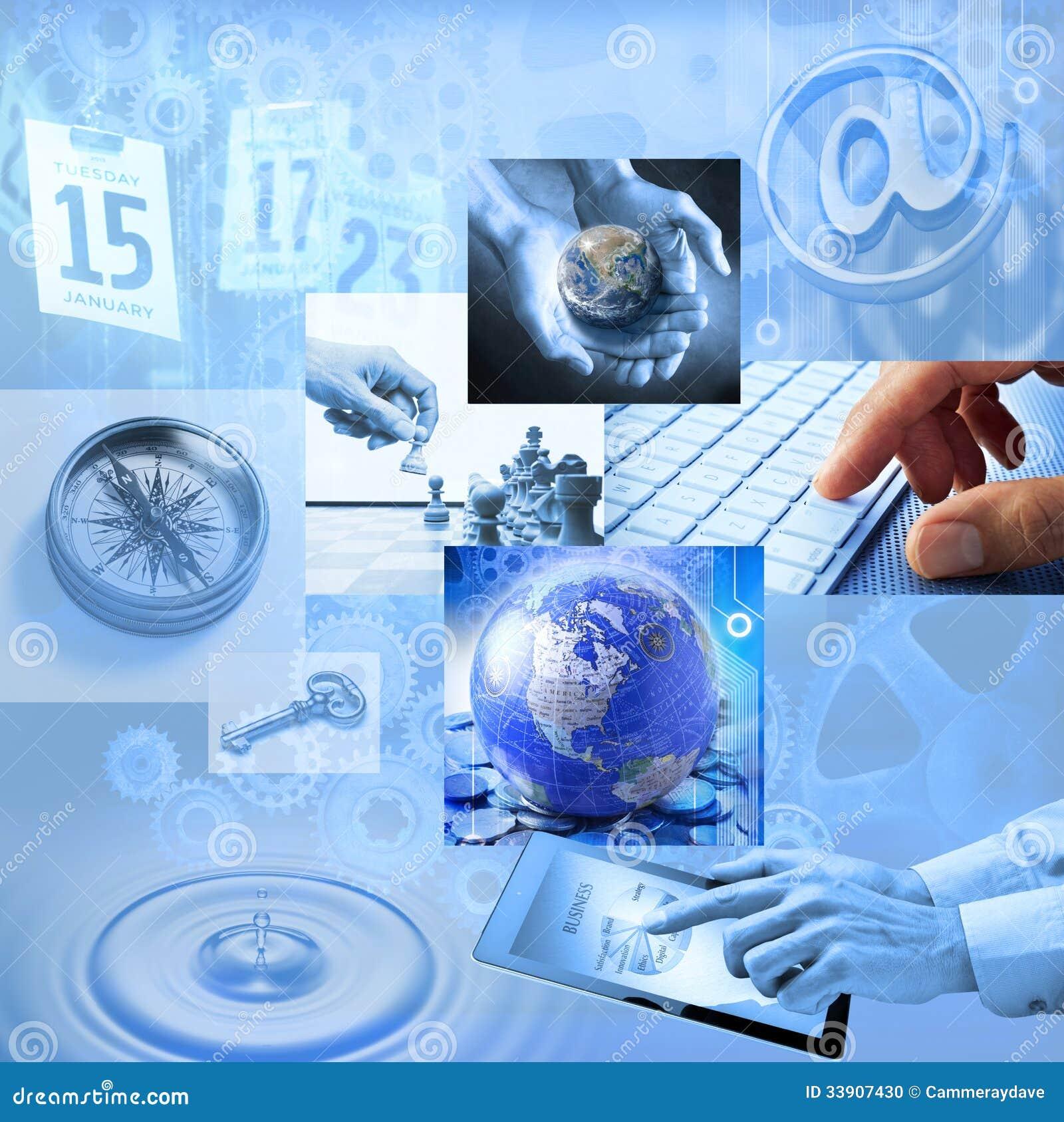 Márketing global del negocio de la estrategia