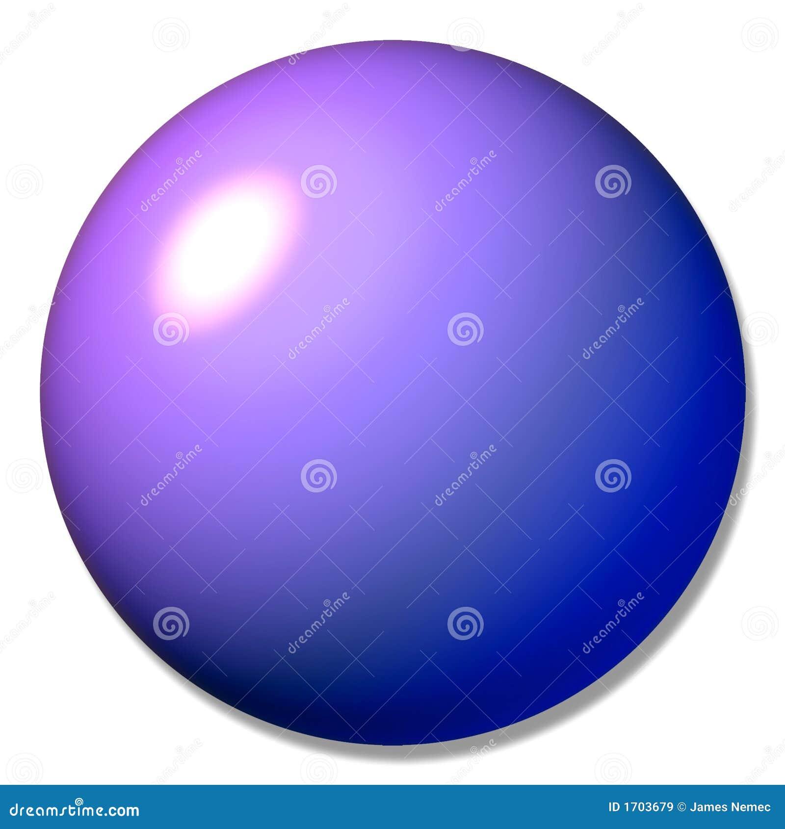 Mármore roxo da esfera da tecla