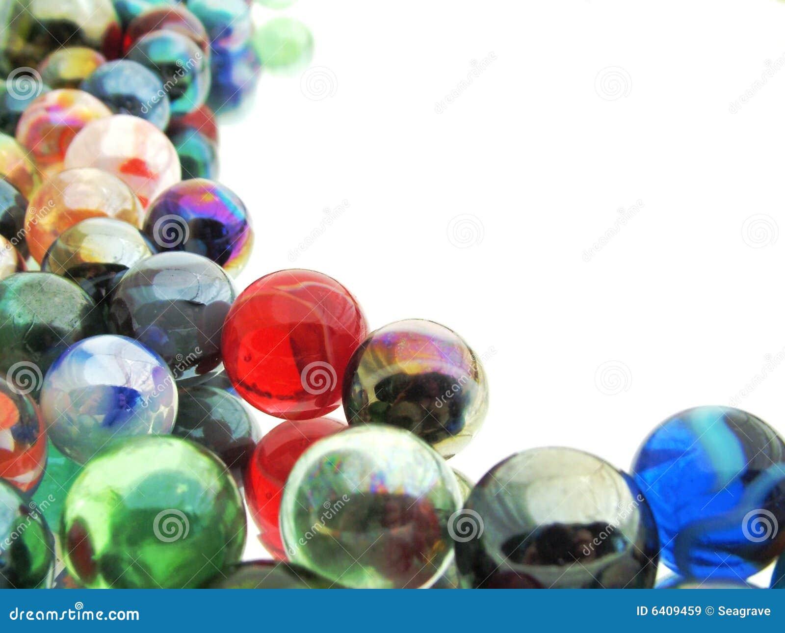 Mármores de vidro