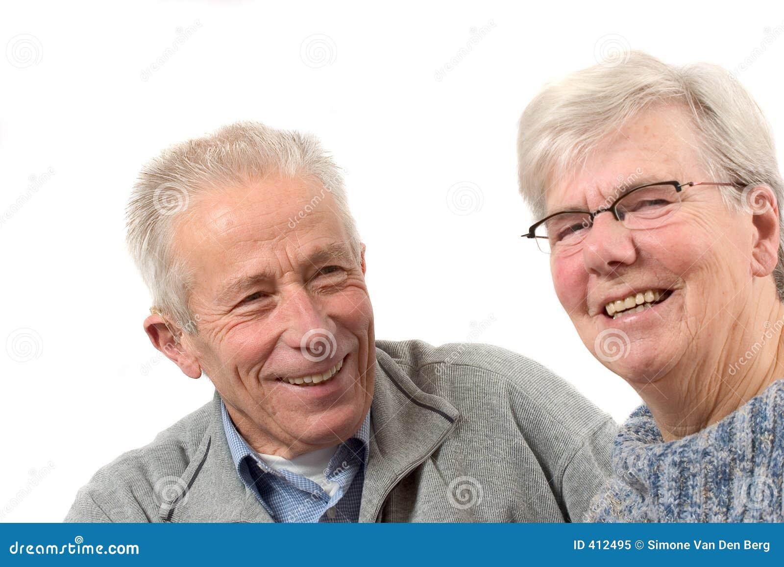 Más viejos pares que se divierten