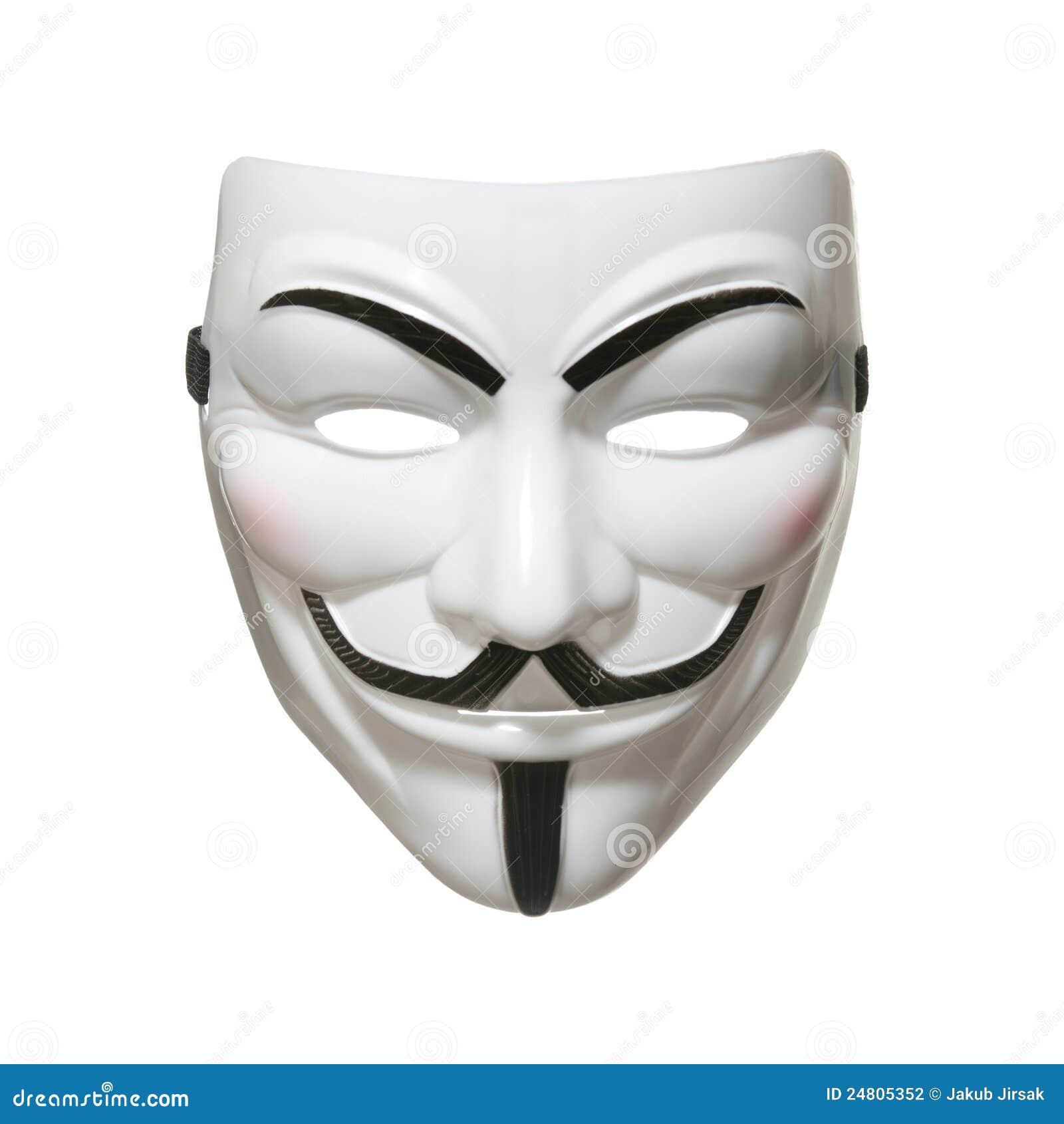 Máscara anónima (máscara de Fawkes del individuo)