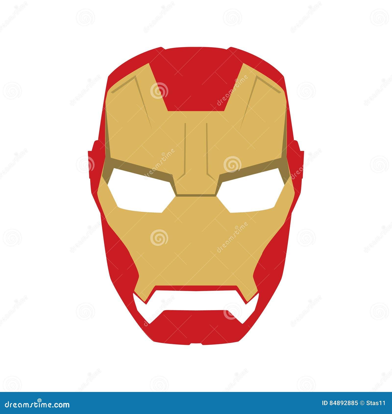 Vistoso Plantilla De Máscara De Caballero Friso - Ejemplo De ...