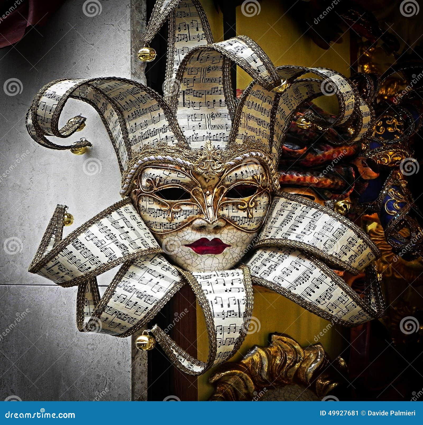 Máscara del carnaval de Venecia