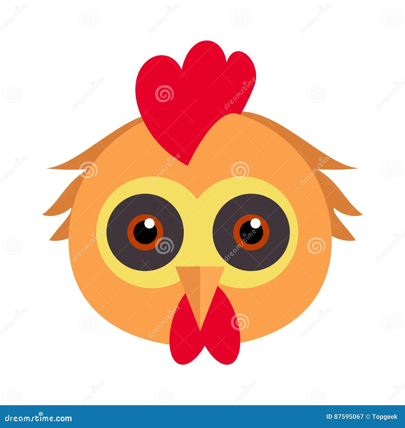 Máscara Del Carnaval Del Pájaro Del Gallo Pollo Hen Fowl Del Gallo ...