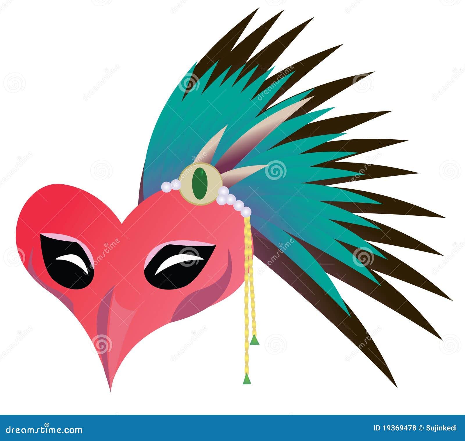 Máscara do pássaro