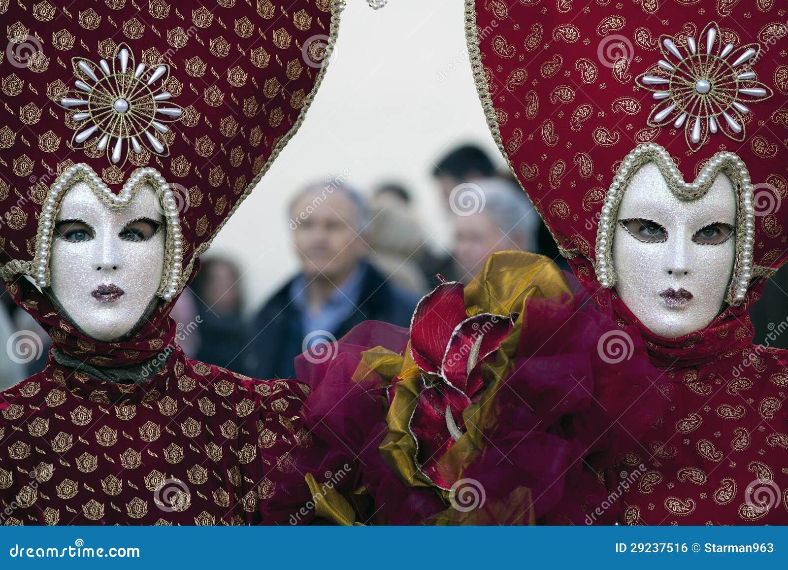 Download Máscara E Trajes Do Carnaval Foto de Stock - Imagem de azul, tradicional: 29237516