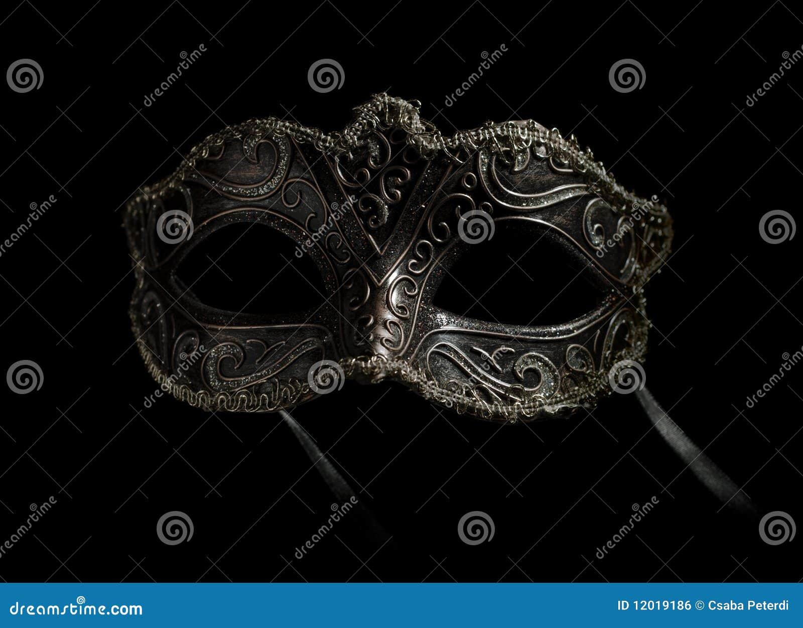 Máscara extravagante