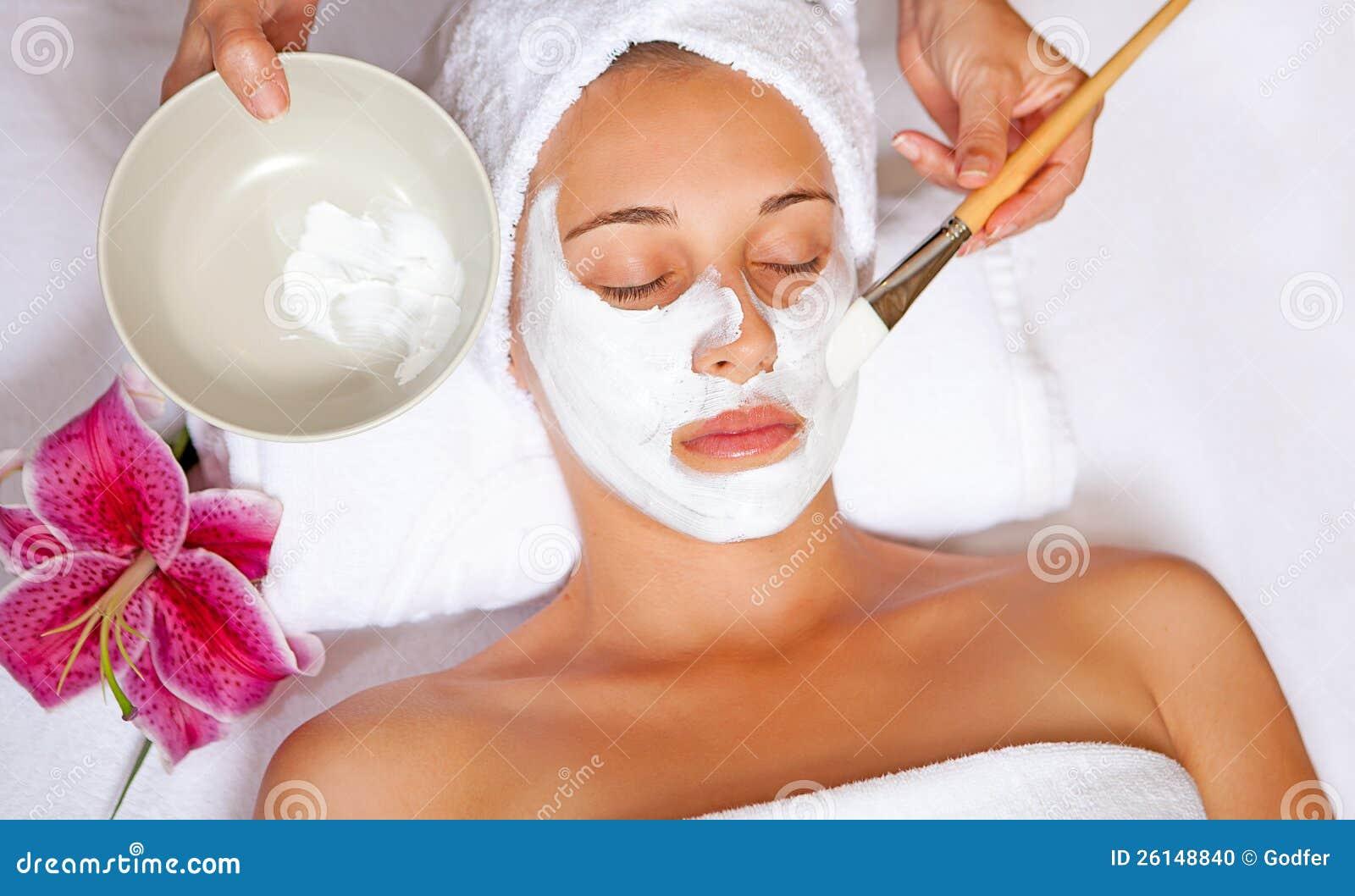 Máscara protectora dos termas