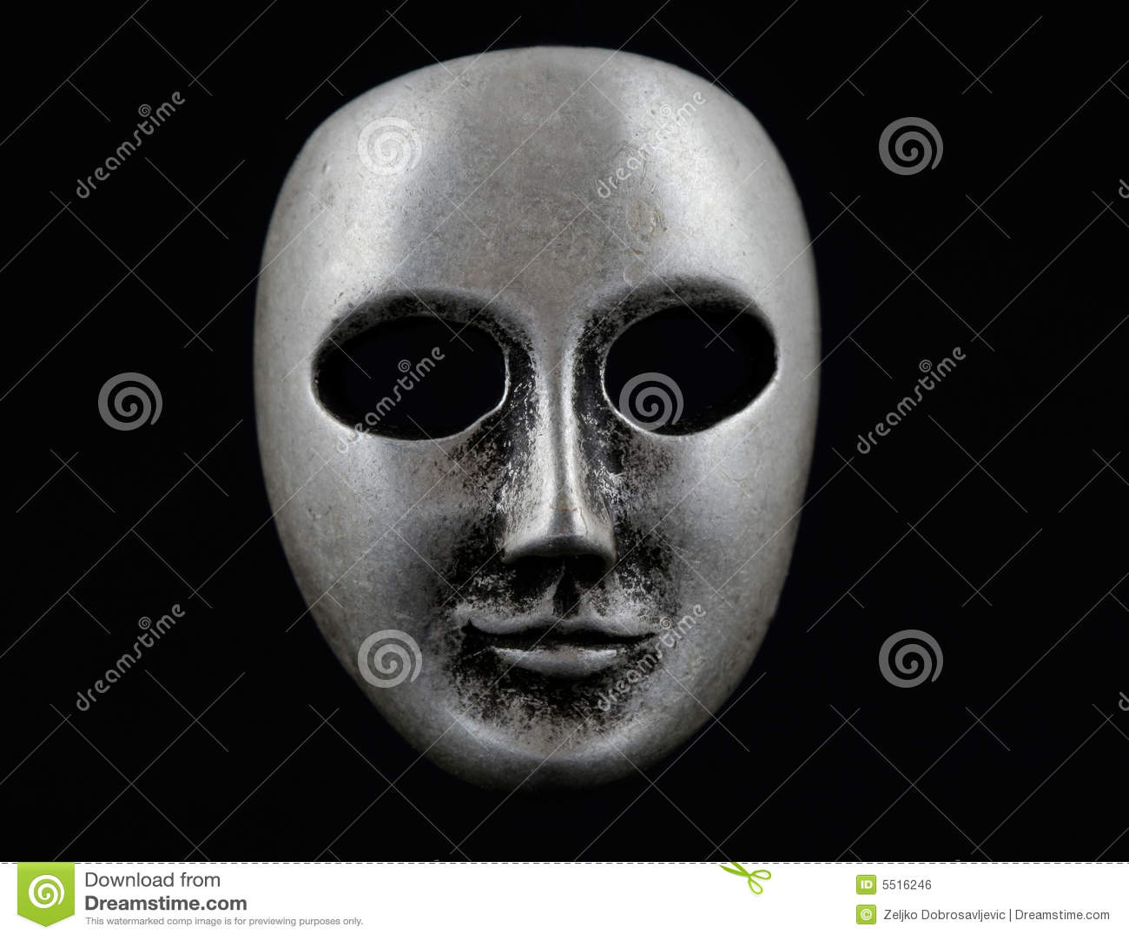 Máscara protectora escura