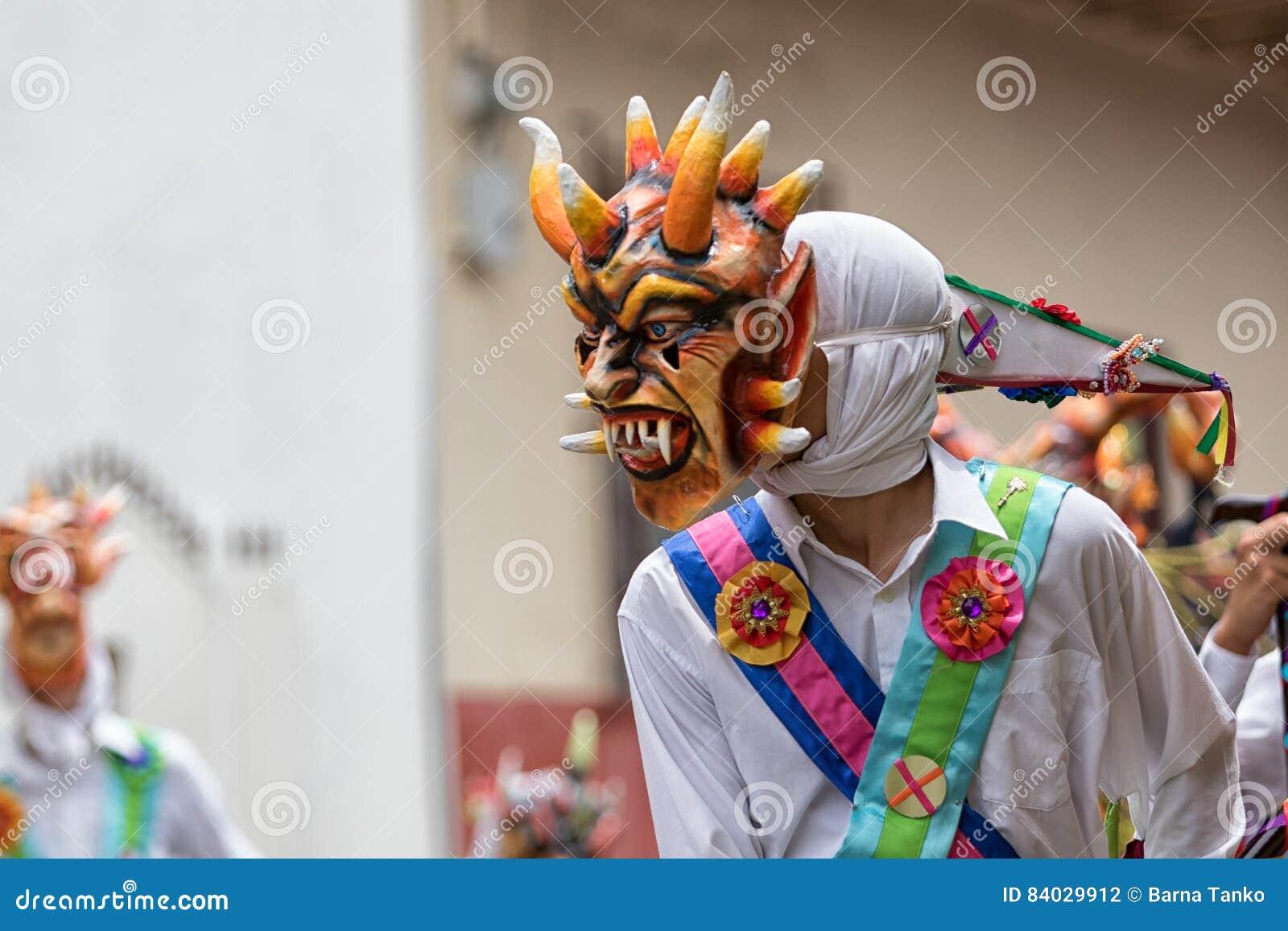 Mascara Tradicional En Panama Fotografia Editorial Imagen De