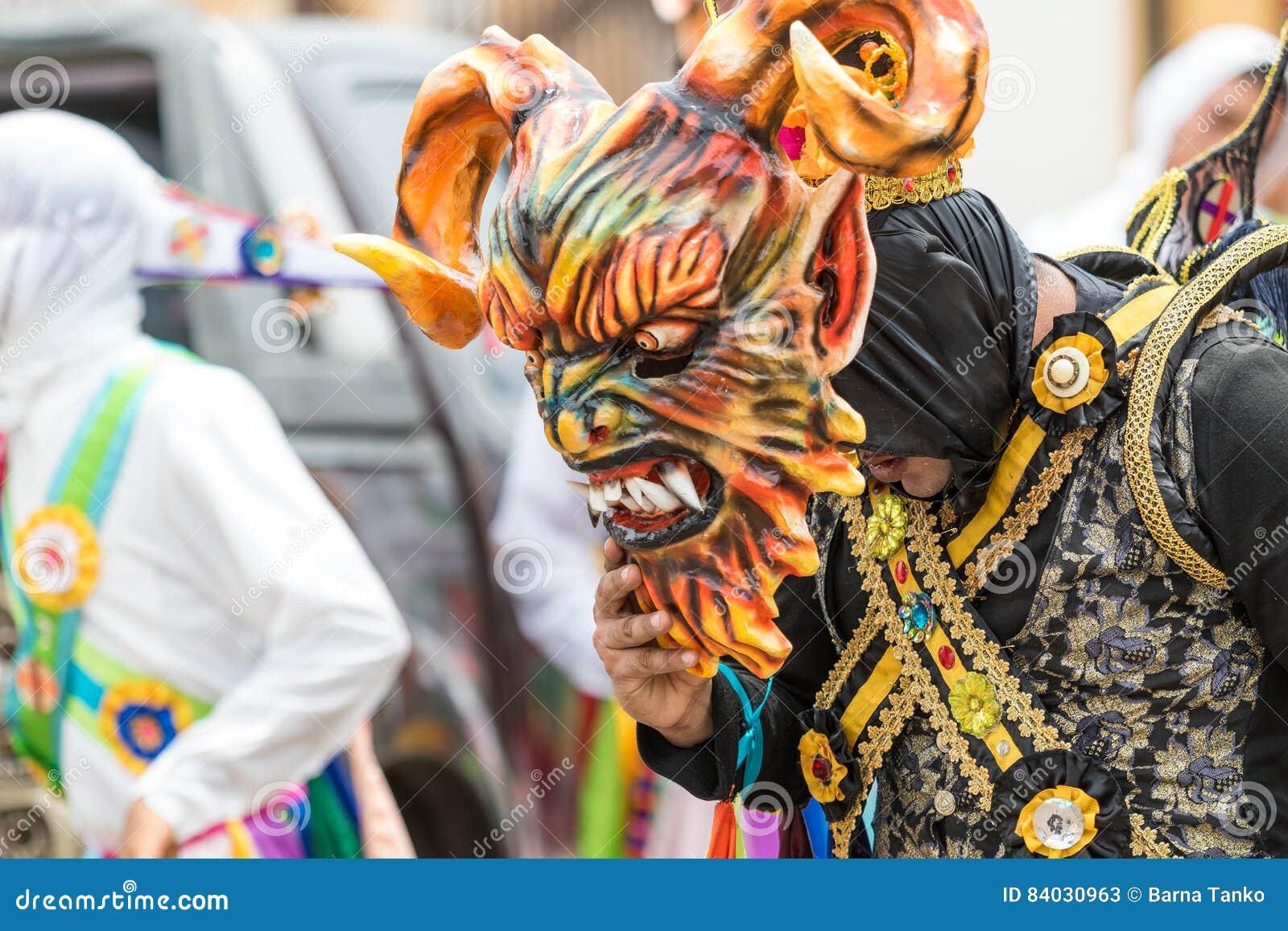 Mascara Tradicional En Panama Foto De Archivo Editorial Imagen De