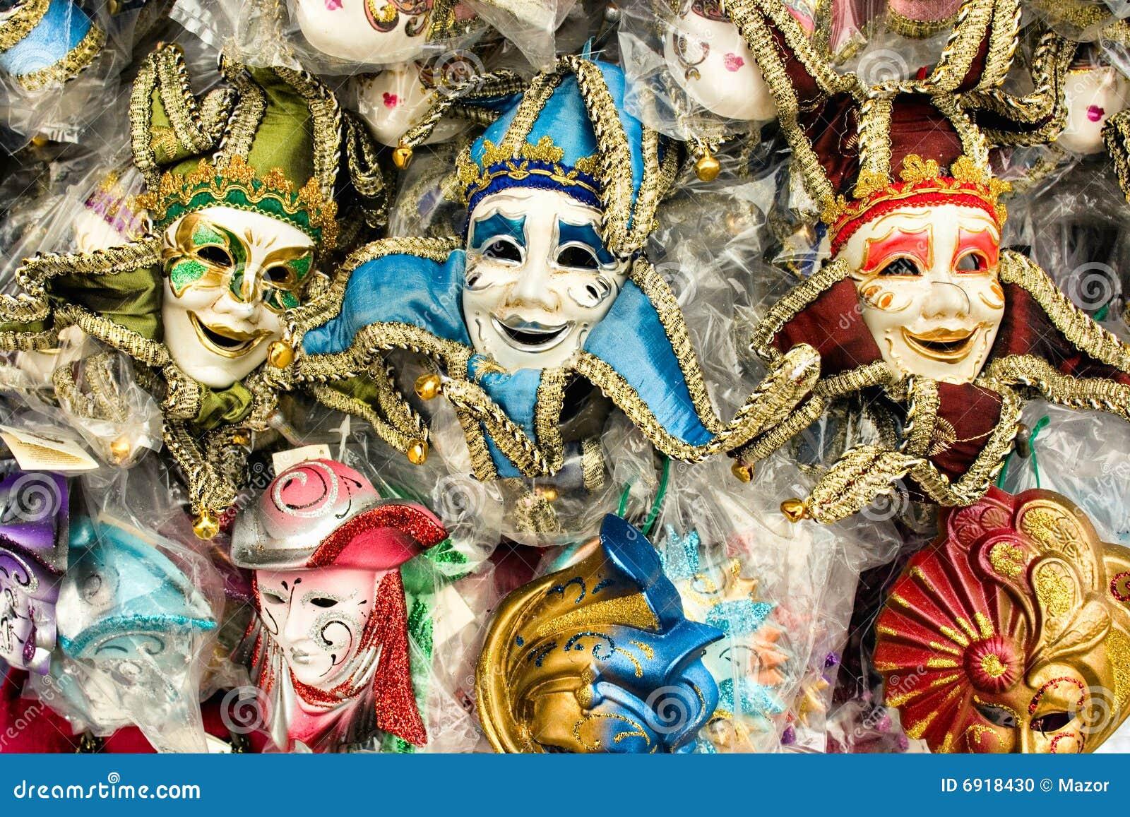 M scaras coloridas del carnaval de venecia foto de - Mascaras de carnaval de venecia ...