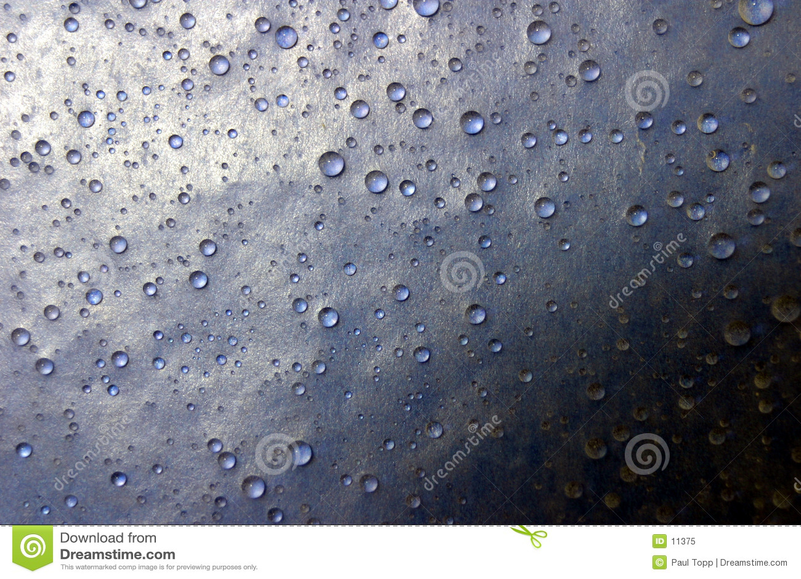 Máscaras da gota da água