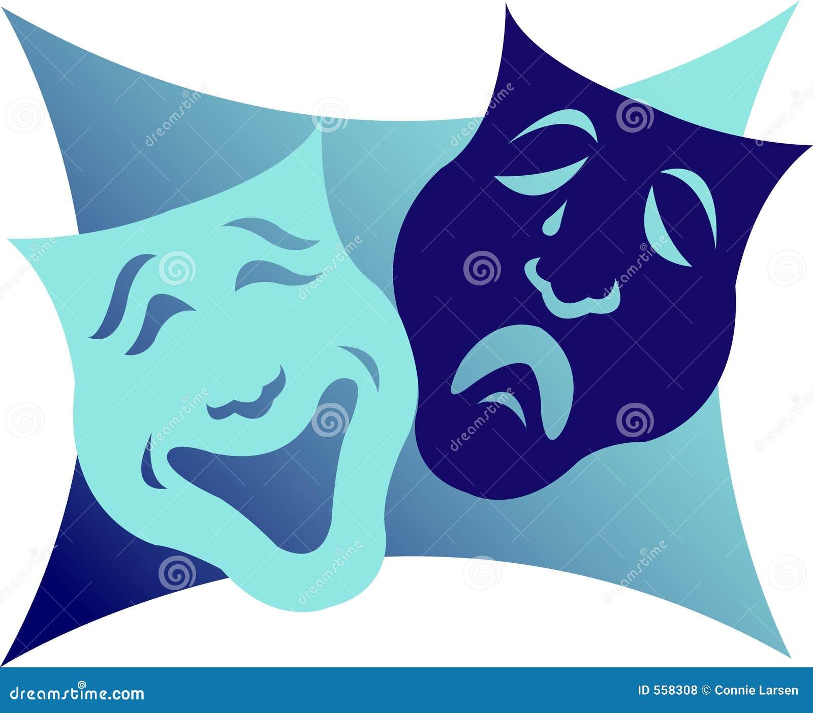 Máscaras/EPS del drama