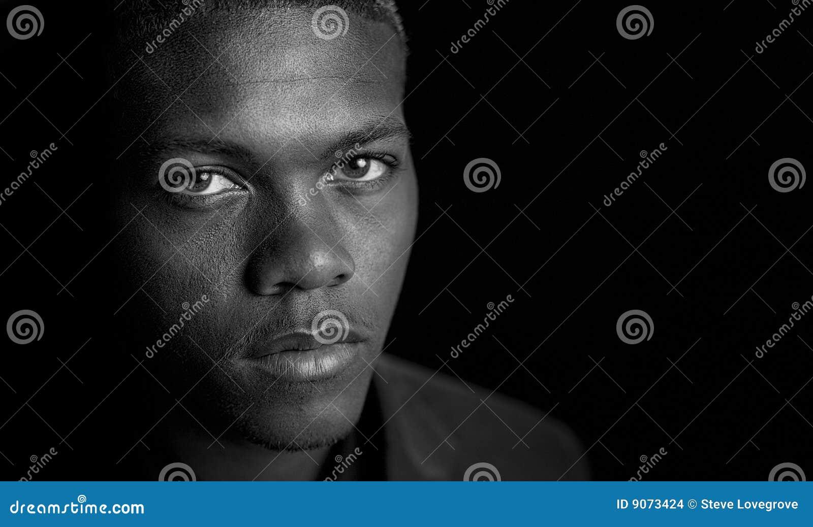 Mâle d Afro-américain