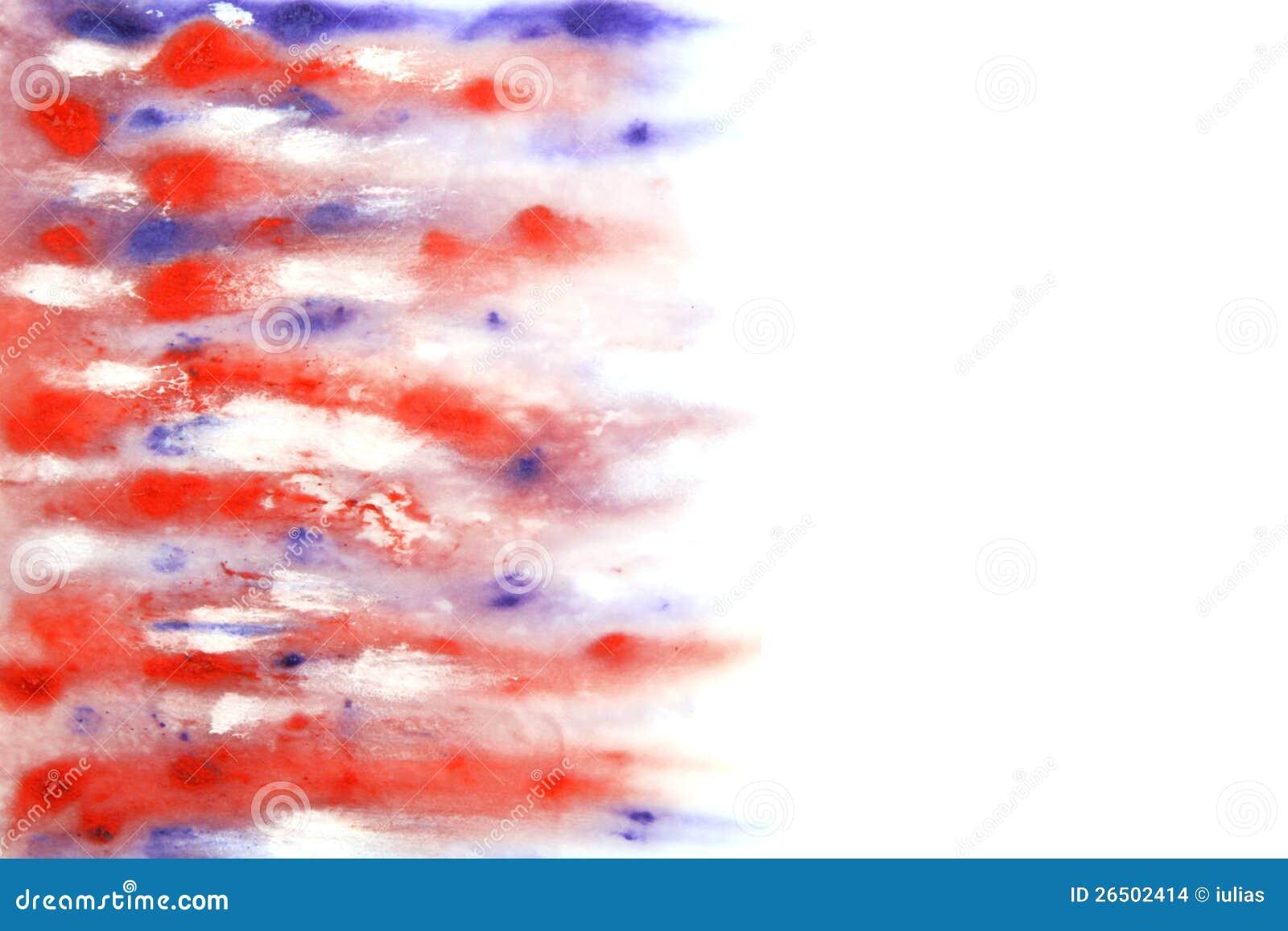 Mão abstrata fundo desenhado da aguarela