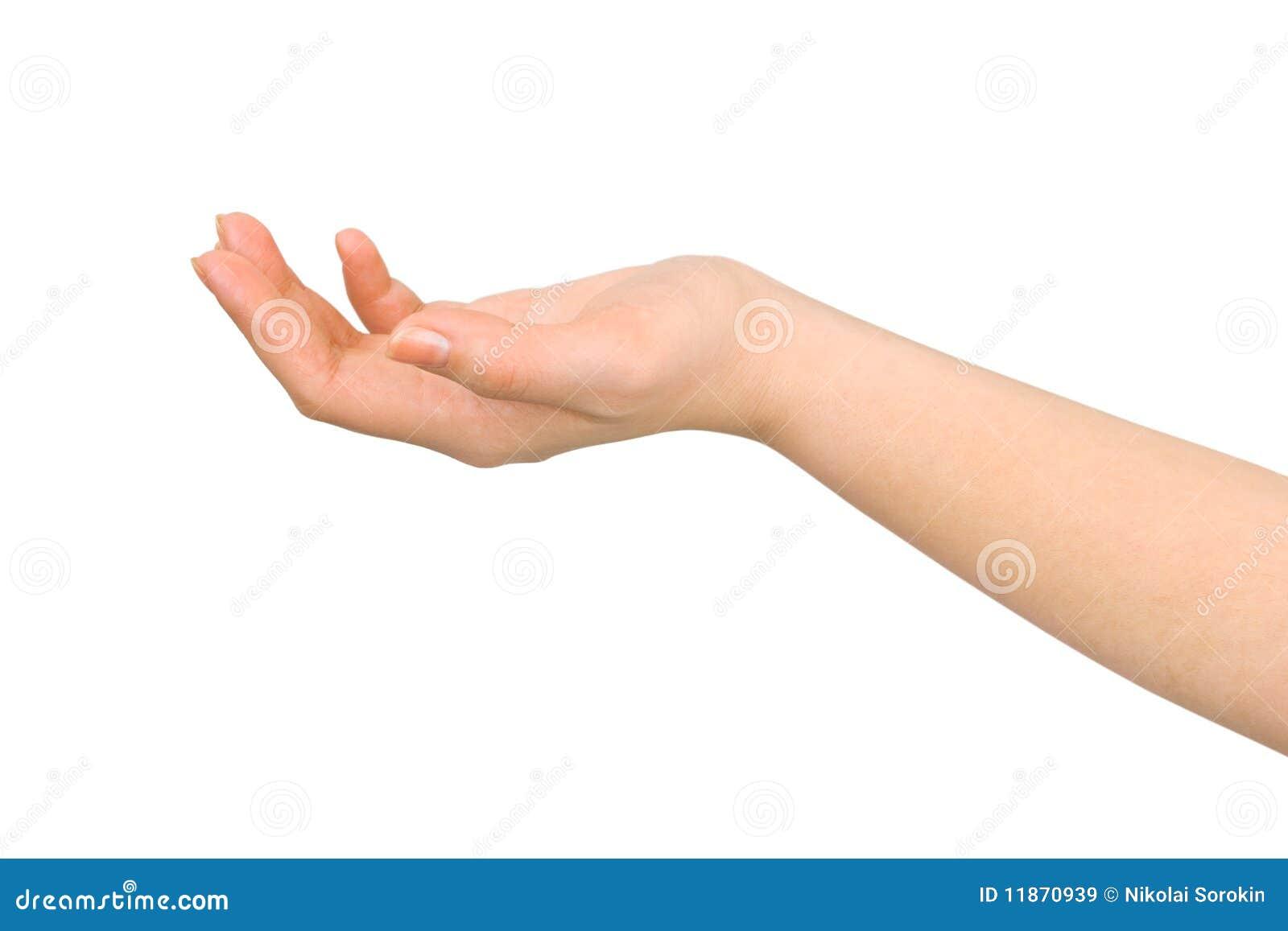 Mão colocada