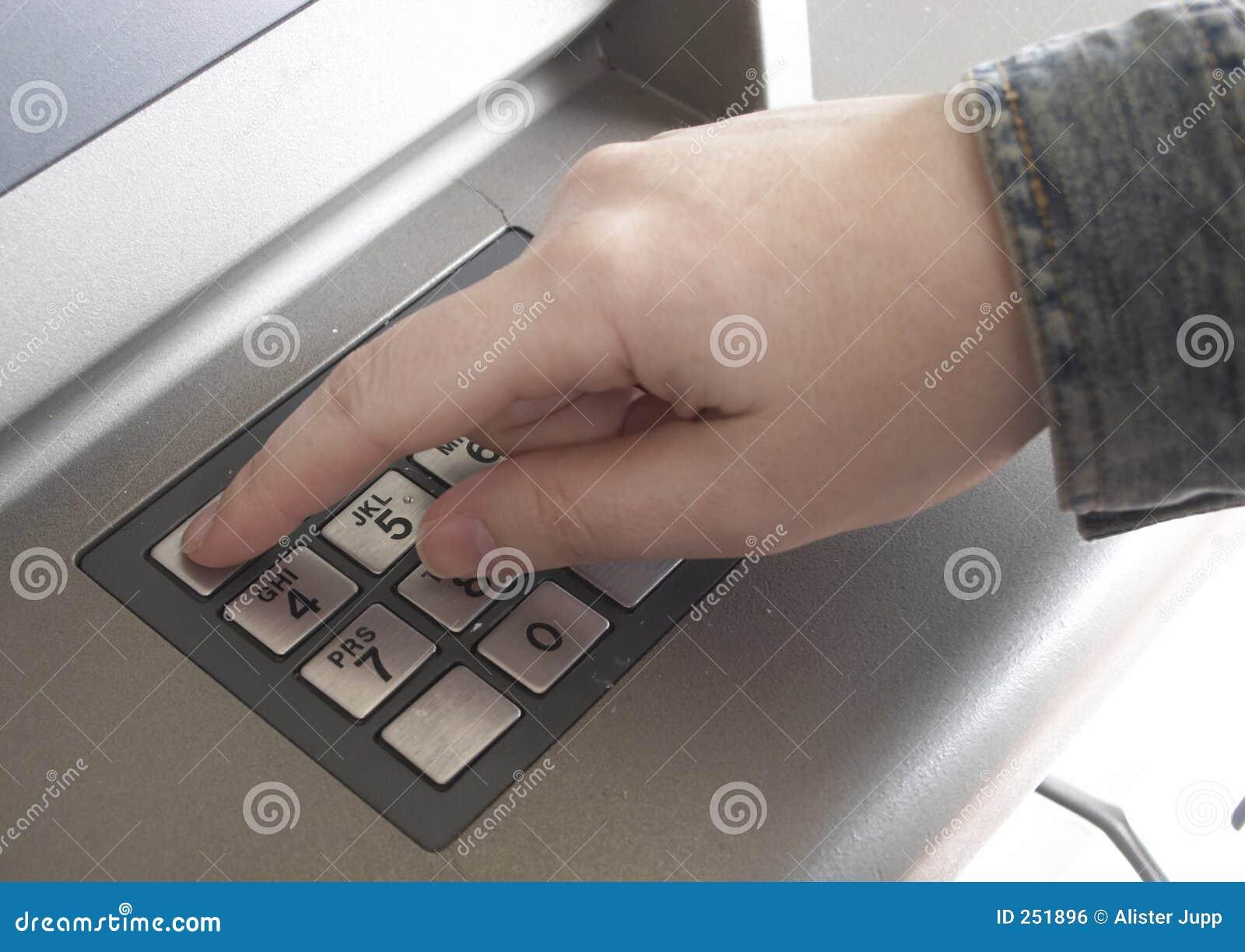 Mão do ATM