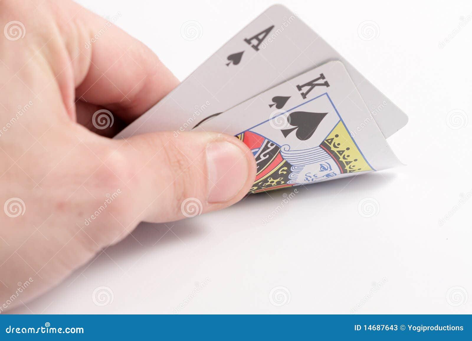 Mão do póquer