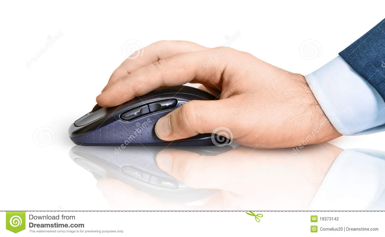 Mão e rato