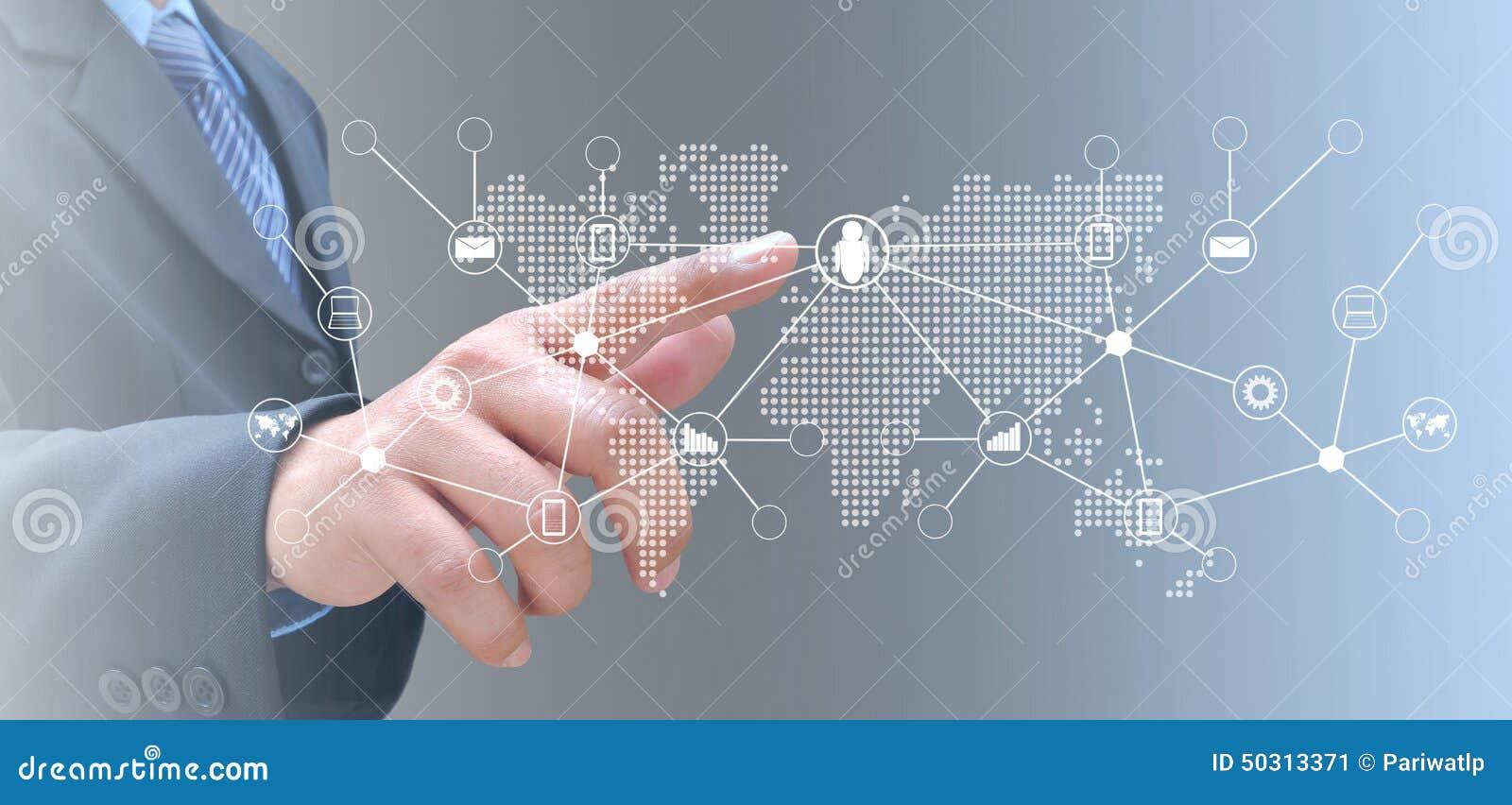 Mão na tecnologia