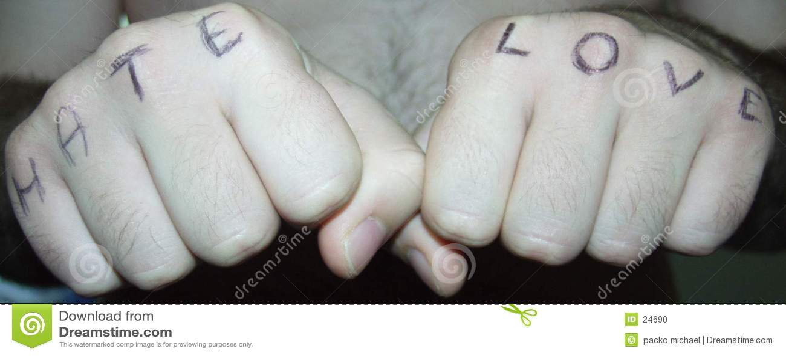 Mãos: amor e ódio