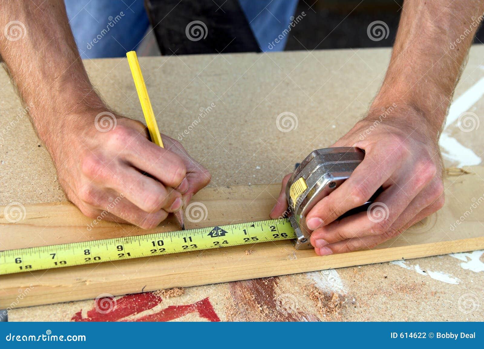 Mãos da construção