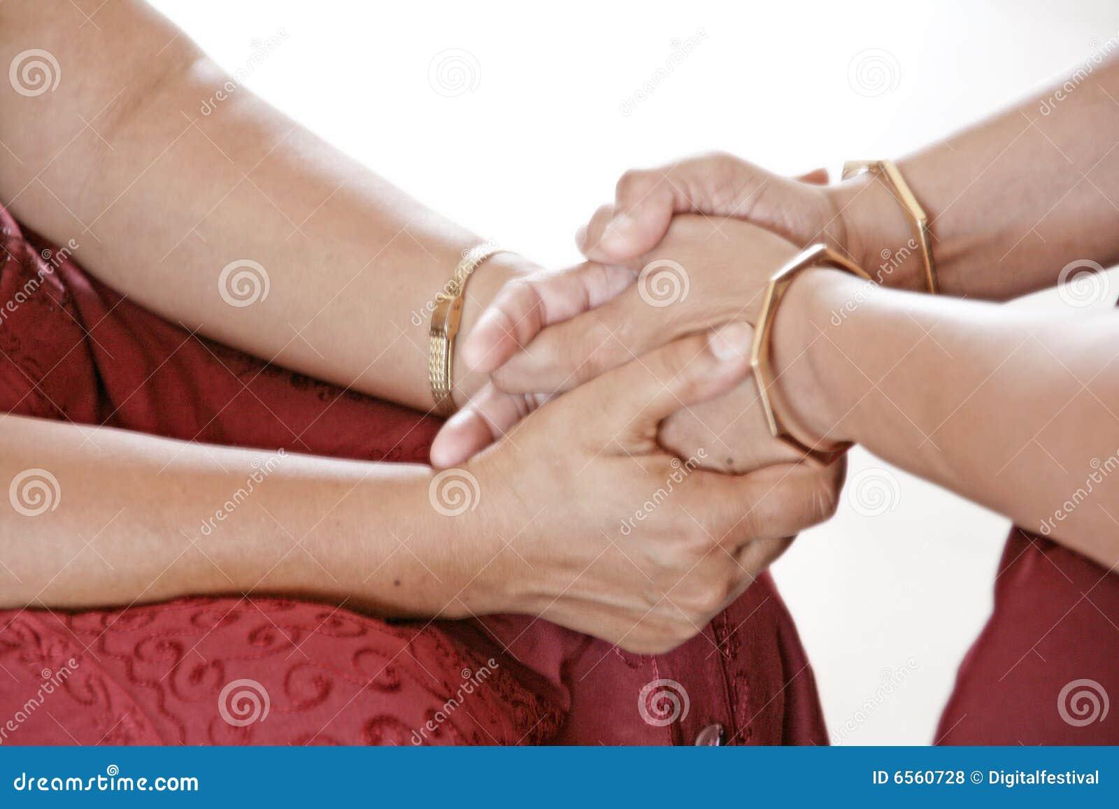 Mãos da cura do amor meditative 2