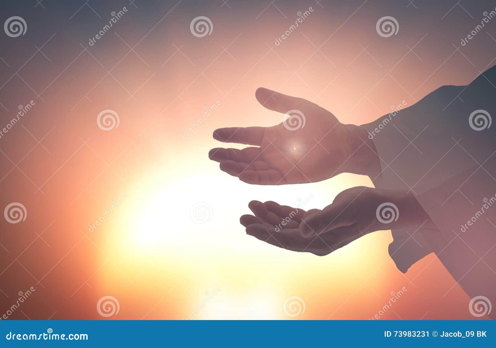 Mãos de Jesus Christ