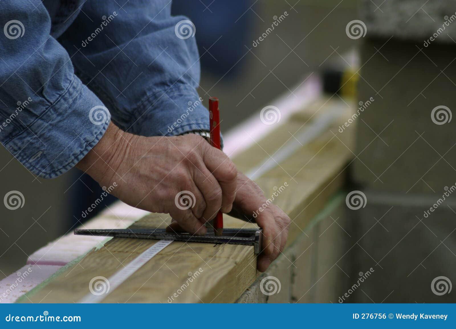 Mãos de medição