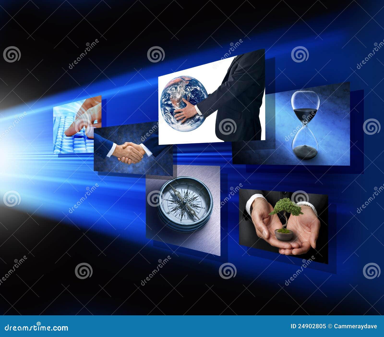Mãos globais da estratégia de marketing do negócio