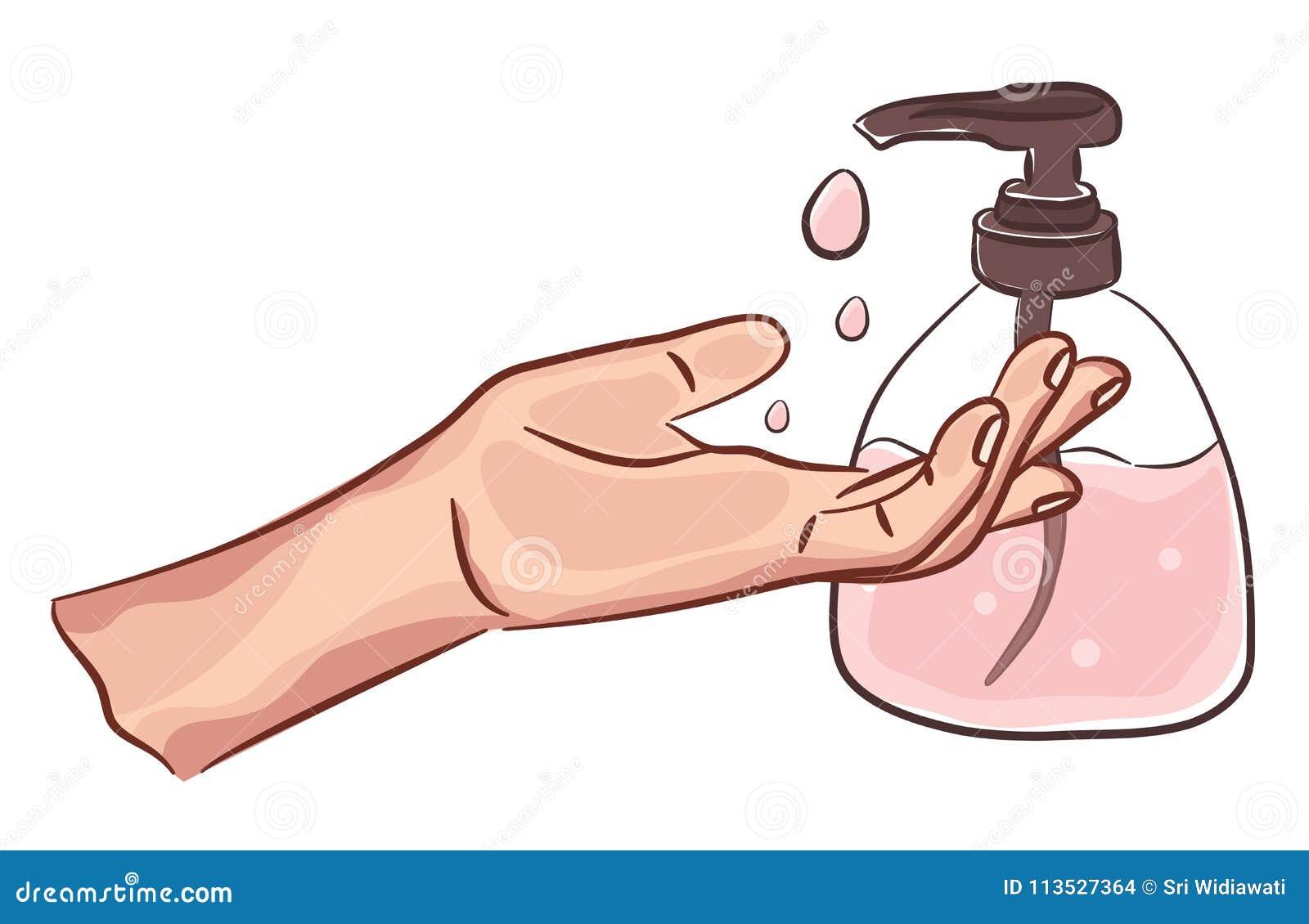 Maos Limpas De Lavagem Com Sabao Handwashing Higiene Pessoal