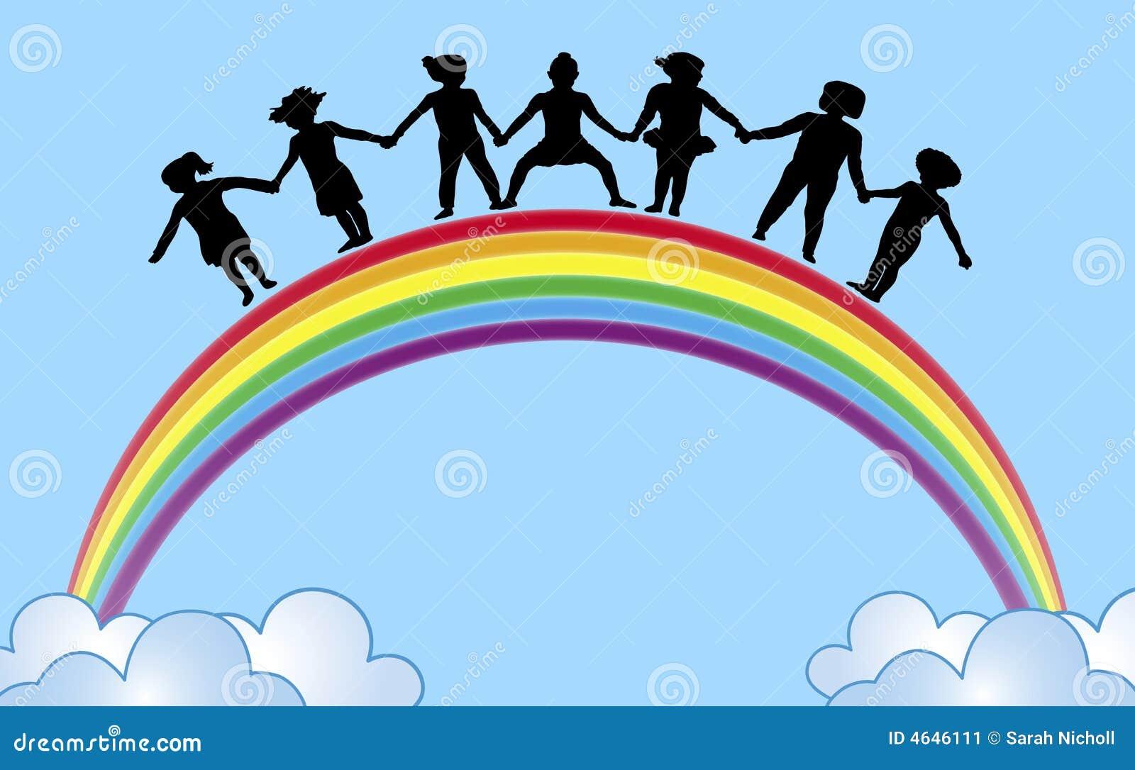 Mãos no arco-íris 1