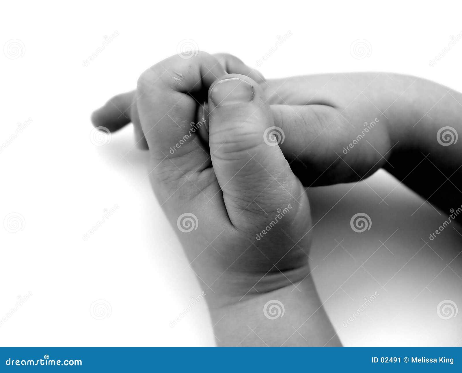Mãos pequenas