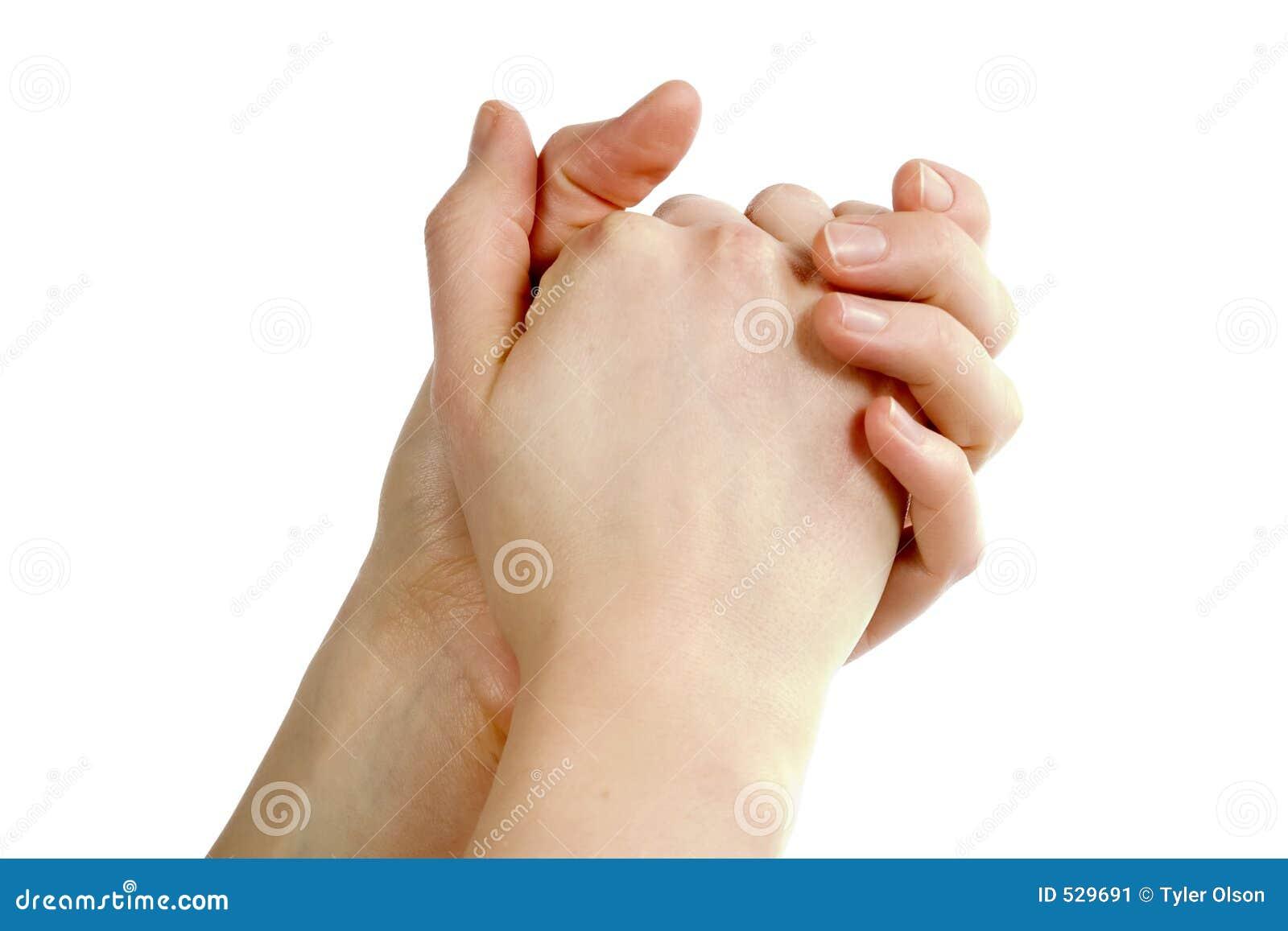 Mãos Praying