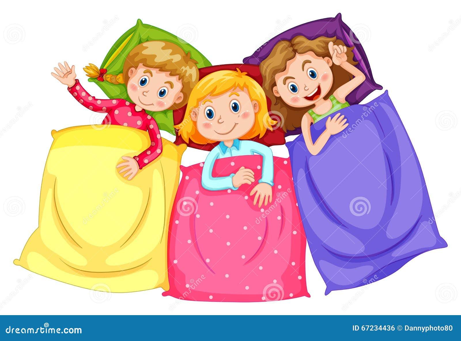 Pyjama Party Mädchen