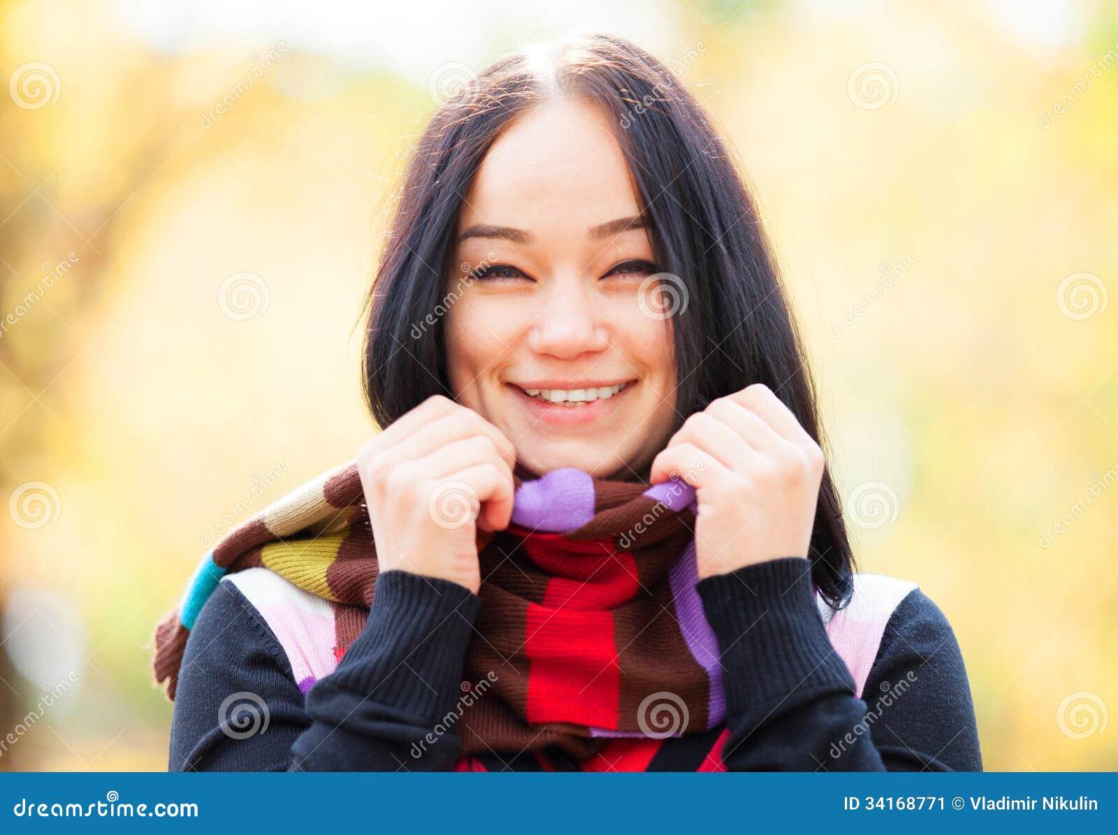 Mädchen an der Herbstgasse