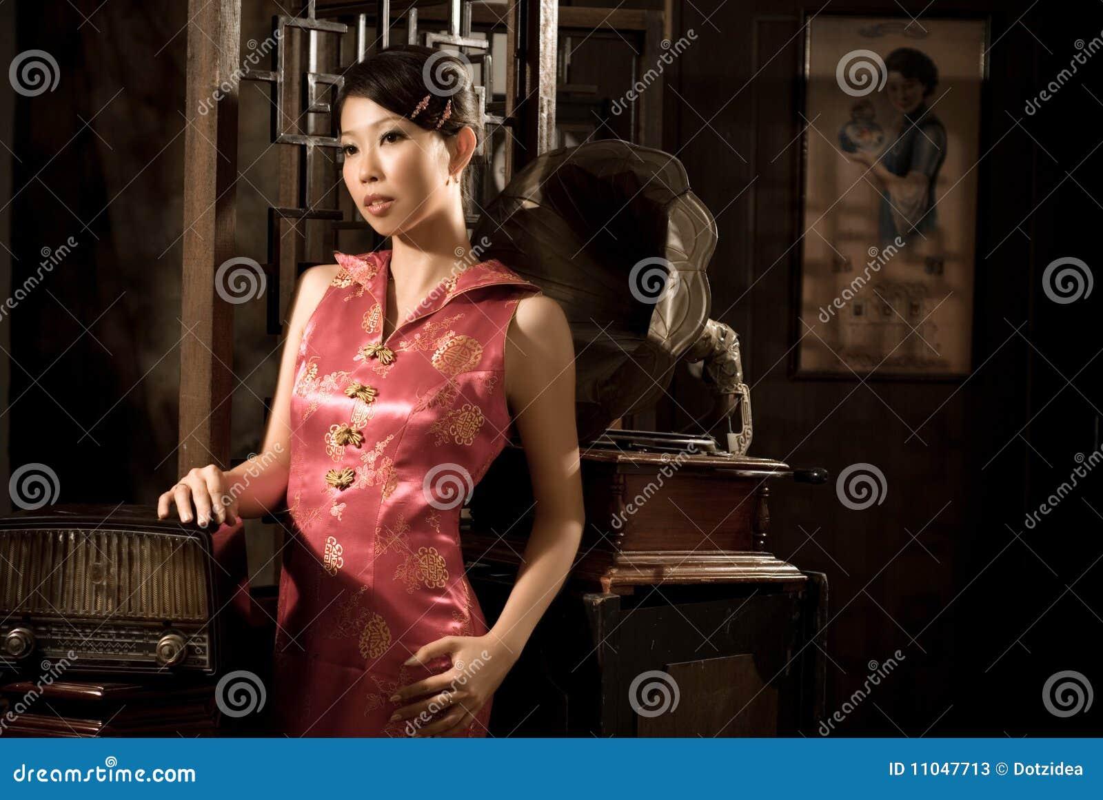 Mädchen des Chinesen 40âs