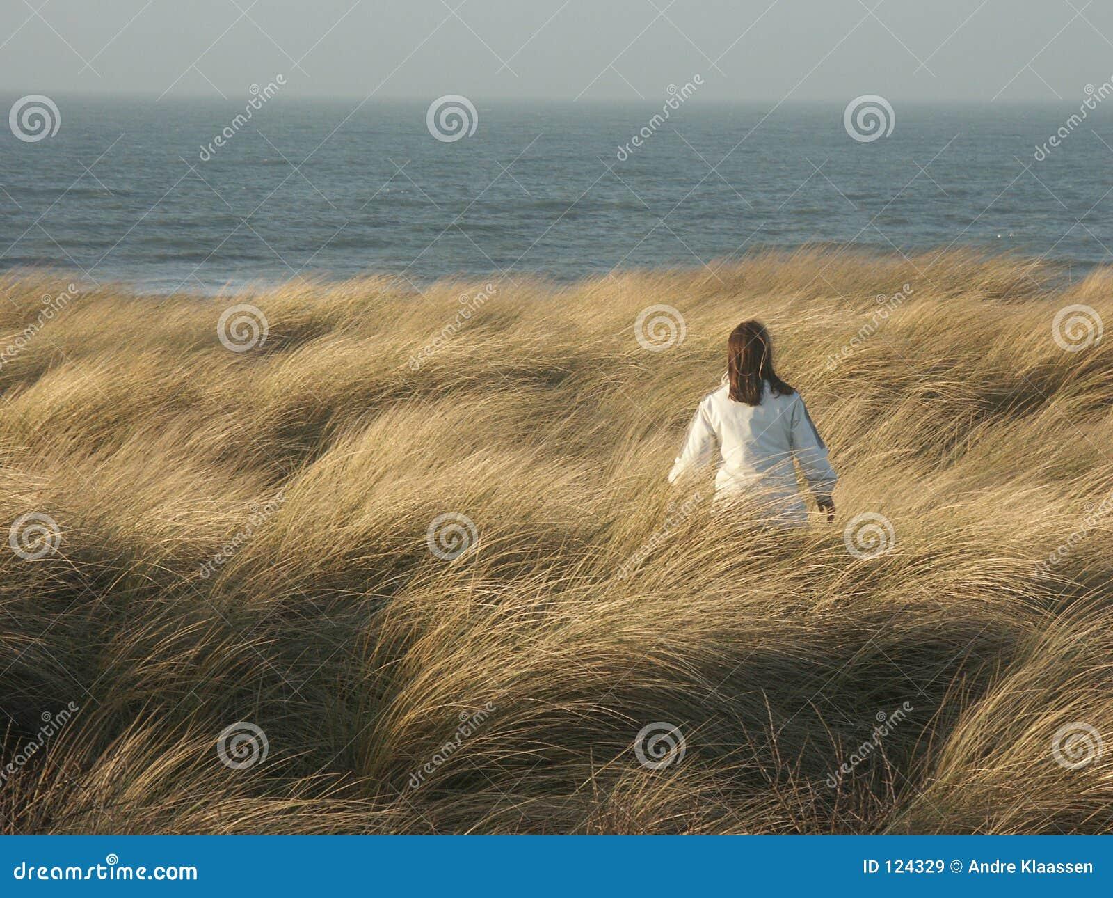 Mädchen Dunewalk