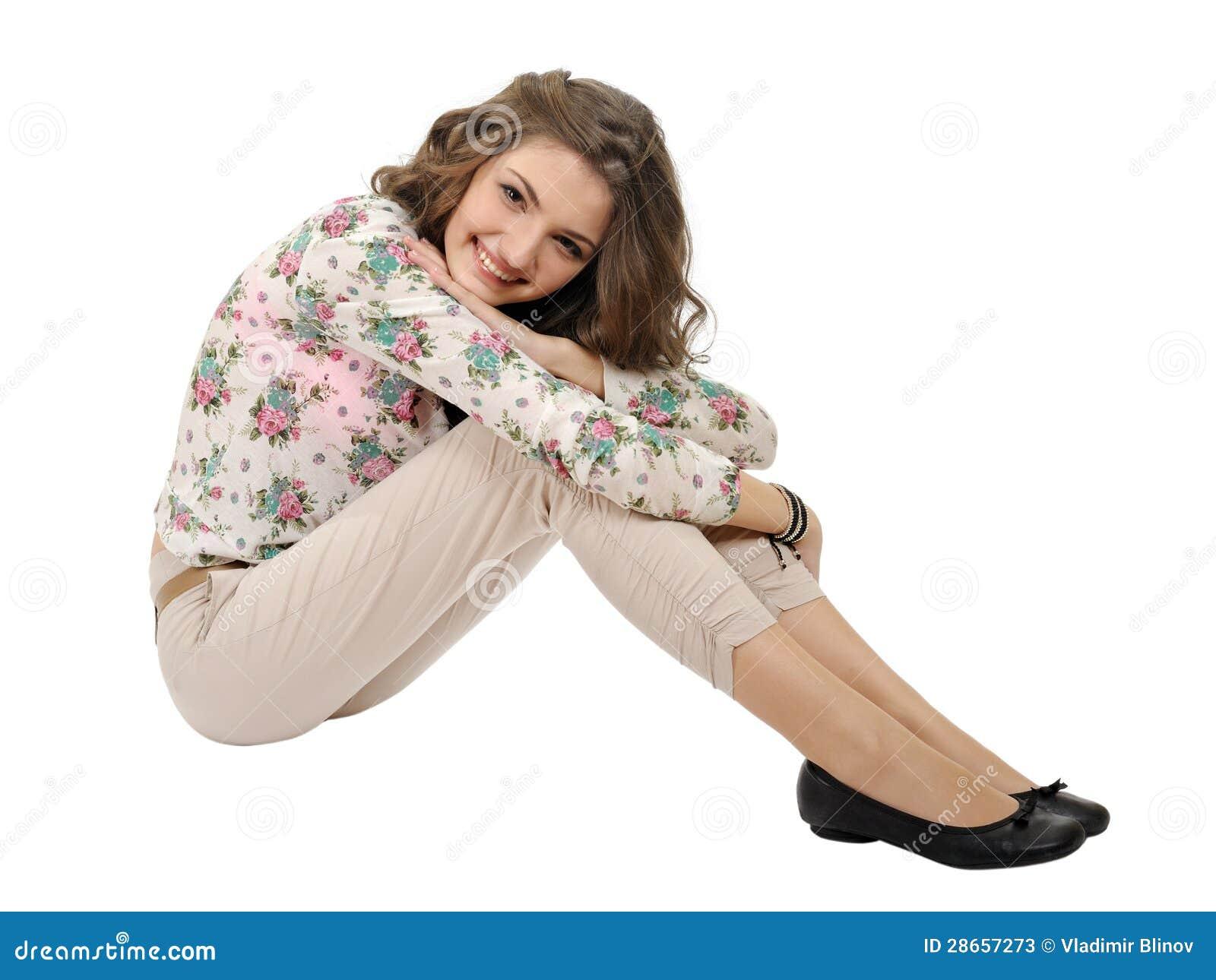 m dchen in einer sommerkleidung stockfotos bild 28657273. Black Bedroom Furniture Sets. Home Design Ideas