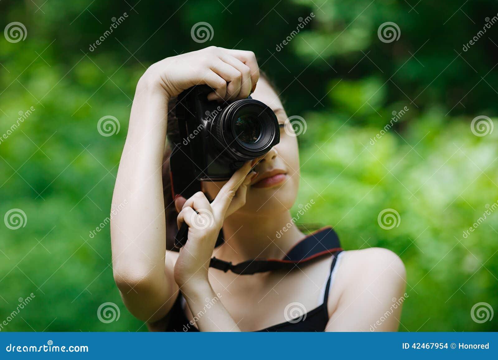 Mädchenphotograph