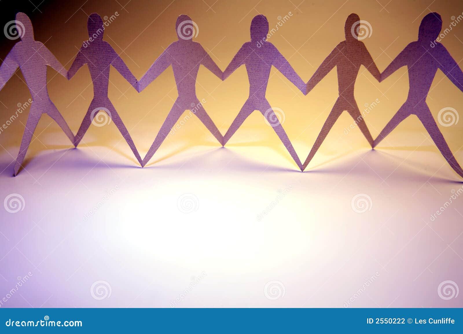 Män som tillsammans sammanfogas