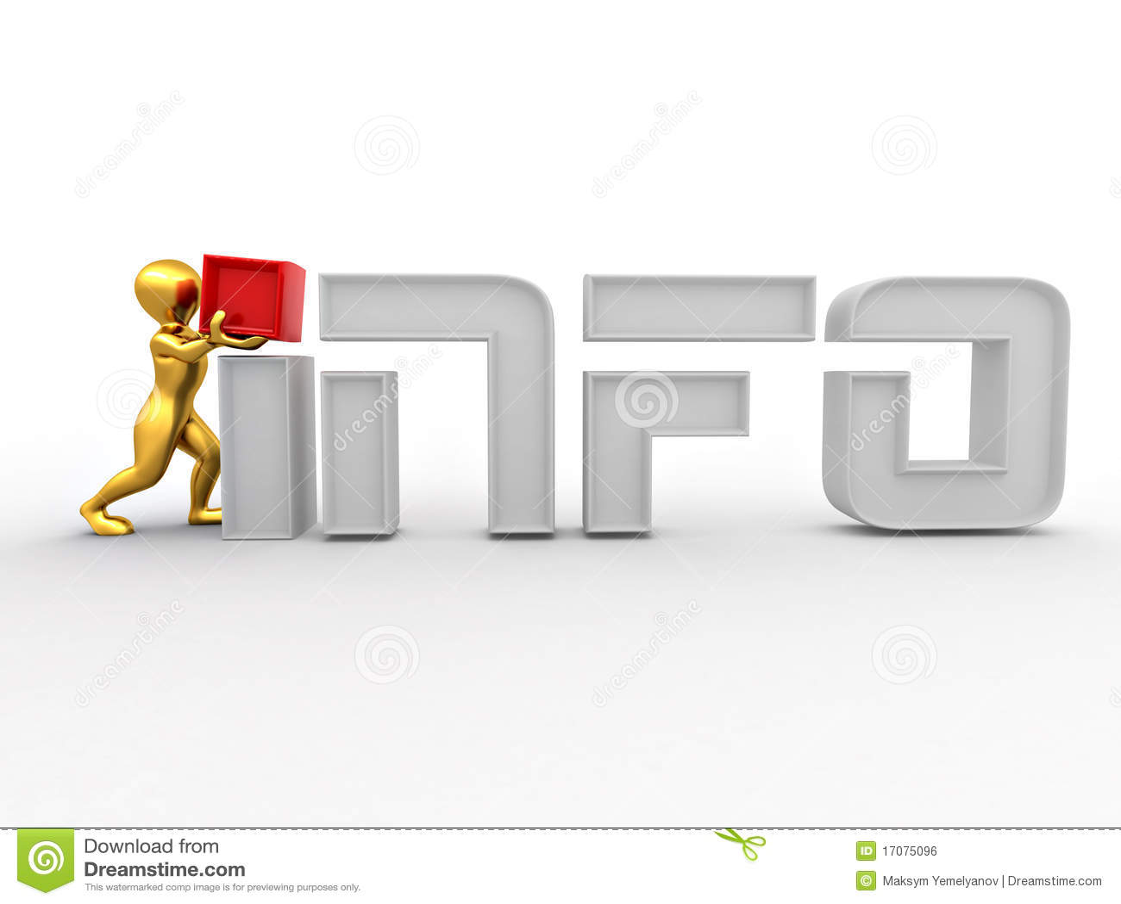 Männer mit Textinfo auf weißem getrenntem Hintergrund