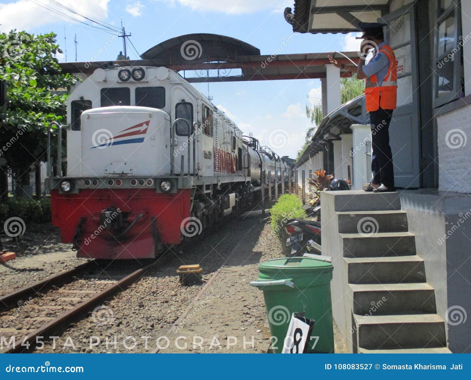 Människa och järnväg